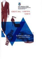 BOLLETTINO VENDITE DALL' 11/09/19 AL 13/09/19