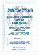 BOLLETTINO MOBILIARE ASTA 12/04/2019