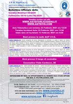Bollettino Fallimento 54/19 - Arredamento