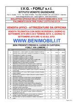 Bollettino Fallimento 55/18 - 01/19 Uffici - Attrezzature da officina