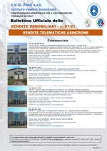 Bollettino Ufficiale delle Vendite Immobiliari 07/21