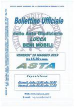 BOLLETTINO MOBILIARE ASTA 10/05/2019