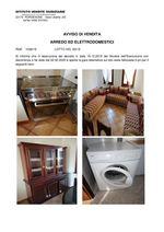 AVVISO DI VENDITA Arredo ed elettrodomestici RGE 1038/2019 Trib. di Pordenone - Lotto 93/2019