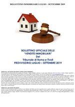 BOLLETTINO IMMOBILIARE LUGLIO - SETTEMBRE 2019