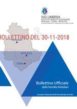 N. 21 BOLLETTINO DEL 30-11-2018