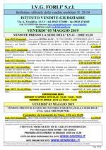 Bollettino aste 03 Maggio 2019