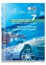 Edizione speciale bollettino mobiliare COMPRA SUBITO SCARPE MARCHE VARIE dal 07/04/2021