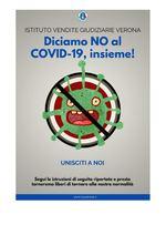 Diciamo NO al COVID-19 insieme! -VERONA- MODALITA' DI PARTECIPAZIONE GARA DEL 15 E 16 LUGLIO 2020 - COVID-19