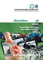 Bollettino Ufficiale delle Vendite Mobiliari n. 38