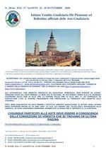 BOLLETTINO N. 20-BIS DAL 17 AGOSTO AL 18 SETTEMBRE 2020