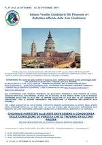BOLLETTINO N. 37 DAL 21 AL 26 OTTOBRE 2019
