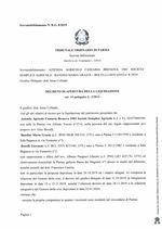 Composizione della crisi da sovraindebitamento 8/2019 - Decreto di apertura