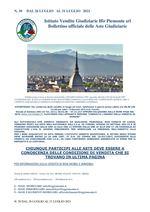 BOLLETTINO N. 30 DAL 26 LUGLIO AL 31 LUGLIO 2021