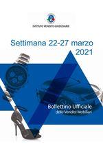 Bollettino vendite mobiliari | 22-28 marzo 2021