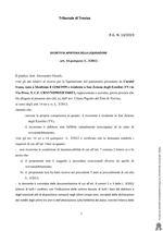 Decreto di apertura della liquidazione - art. 14 quinquies L.3/2012- R.G. N. 14/2019