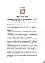 Composizione della crisi da sovraindebitamento n. 7/2018 - Decreto apertura liquidazione