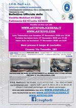 Bollettino Fallimento 63/18 - Mercedes 300 E