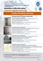 Bollettino Ufficiale delle Vendite Immobiliari 2/21