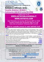 Bollettino Fallimento 108/19 - Arredamento per negozio di ortofrutta - Muletto