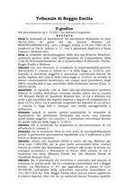 Decreto di apertura liquidazione del patrimonio N.3-2021