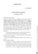 Decreto apertura Liquidazione R.G. 29-19