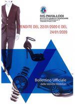 BOLLETTINO VENDITE DEL 22/01/2020 E DEL 24/01/2020