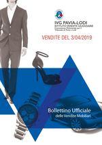 BOLLETTINO VENDITE DEL 3/04/2019