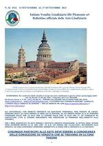 BOLLETTINO N. 34 DAL 13 AL 17 SETTEMBRE 2021