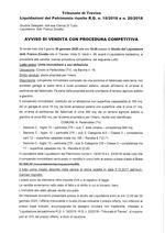 Decreto apertura liquidazione del patrimonio  R.G. 19/18 30/01/2020