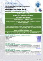 Bollettino aste OnLine Esattoriali termine 10 Novembre 2021