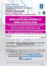 Bollettino Fallimento 03/21 Armadietti e tappeti