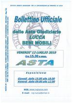 BOLLETTINO MOBILIARE ASTA 12/07/2019
