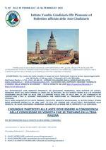 BOLLETTINO N. 5 DALL'1 AL 6 FEBBRAIO 2021
