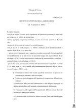 Decreto di apertura della liquidazione - art. 14 quinquies L.3/2012- R.G. N. 24/2019