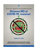 Diciamo NO al COVID-19 insieme! -ROVIGO- MODALITA' DI PARTECIPAZIONE GARA DEL 15 Luglio 2020 - COVID-19