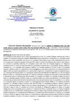 Fall. 132/18 - Vendita Arredo Uffici di pregio (in stile) - Asta del 11/02/19