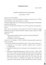 Decreto apertura liquidazione R.G. 12/2019