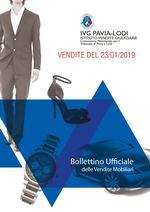 BOLLETTINO VENDITE DEL 23/01/2019