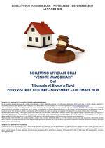BOLLETTINO ASTE IMMOBILIARI NOVEMBRE - DICEMBRE 2019 - GENNAIO 2020    2019