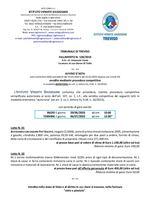 Fall. 128/19 - Ducato e Torni in asta telematica con fine 06/07/20