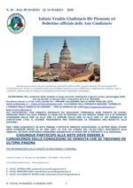 BOLLETTINO N. 10 DAL 9 AL 14 MARZO 2020