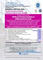 Bollettino Fallimento 46/19 - Macelleria