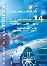 Edizione speciale bollettino LCA MSE 541/15 COOPSETTE delle vendite del 1 MARZO 2019