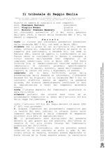 Decreto per la vendita di beni Concordato Preventivo n. 9/2018