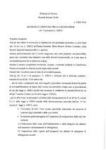 Decreto apertura liquidazione  R.G. 2/21