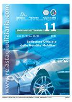 Bollettino ufficiale delle vendite Mobiliari dal 07/04/2021 al 14/04/2021