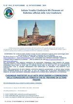 BOLLETTINO N. 42 DAL 23 AL 30 NOVEMBRE 2019