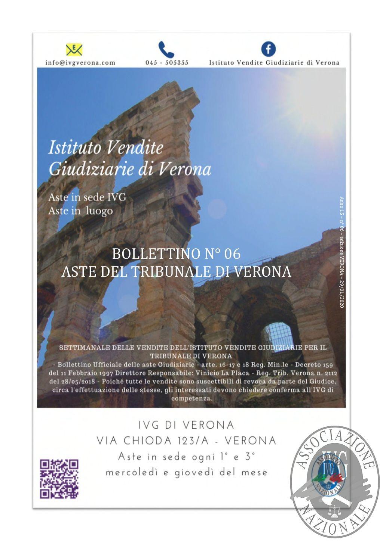 BOLLETTINO N. 6 EDIZIONE VERONA - VENDITA SENZA INCANTO IL GIORNO 10 MARZO 2020 IN VERONA VIA CHIODA N. 123A_page-0001.jpg