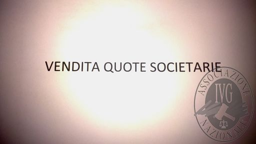 QUOTE SOCIETARIE PARI AL 8,64% DEL CAPITALE SOCIALE