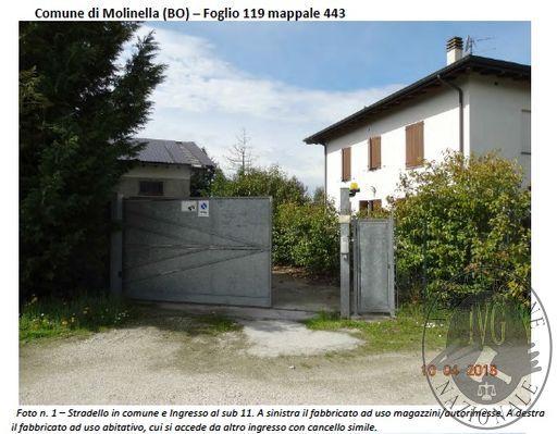 Molinella (BO) via Provinciale Superiore 230 - località Miravalle - FABBRICATO CON APPARTAMENTI